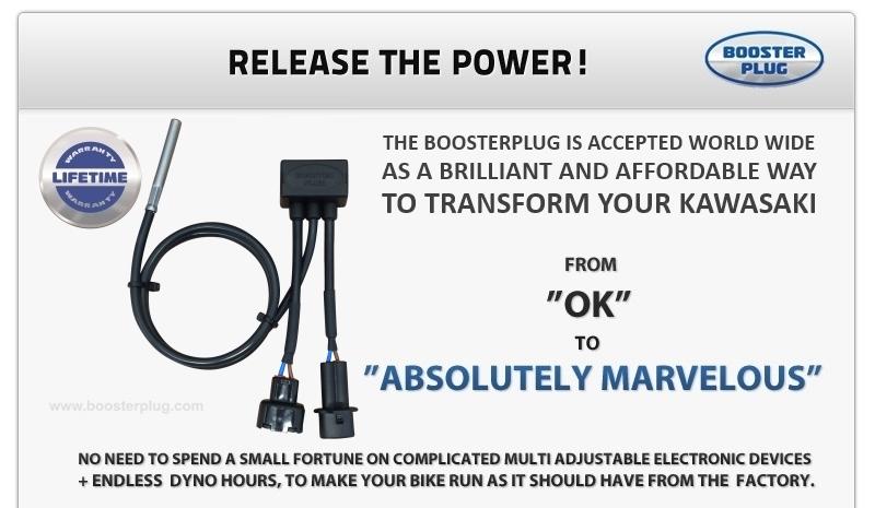 Forget the Power Commander 2007-2016 BoosterPlug Kawasaki Versys 650
